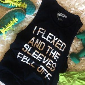 Crazy Dog women's muscle shirt Size L